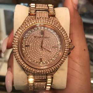 Michael Kors Camille watch Rose gold